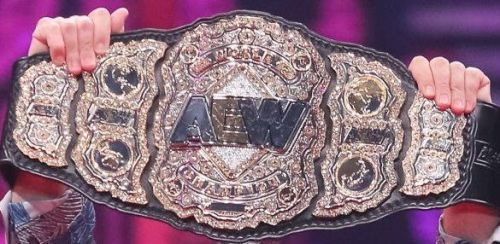 AEW Championship Belt