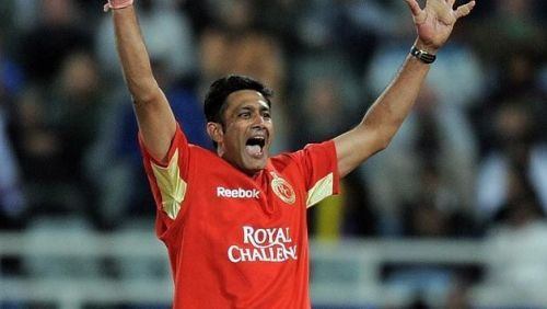 Anil Kumble played for the Royal Challengers Bangalore from 2008 to 2010 (Image courtesy - IPLT20/BCCI)