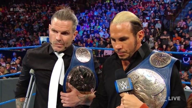It will be interesting to see what Vince McMahon decides for the future of the SmackDown tag titles