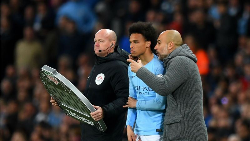 Sane is reportedly unhappy at Manchester City