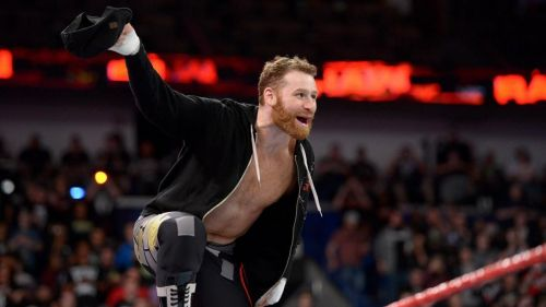 Could Sami Zayn be looking for a change of character