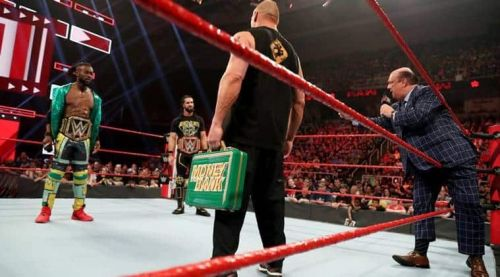 Brock Lesnar made a rare appearance on Monday Night Raw and confronted both Universal Champion Seth Rollins and WWE Champion Kofi Kingston.