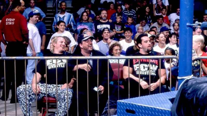 Sandman, Paul Heyman and Tommy Dreamer were just some of the ECW stars who took RAW by storm.