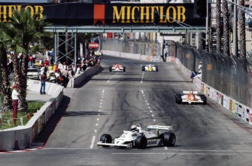 Long Beach used to hold F1 Grands Prix during the 1970s and '80s.