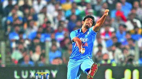 Bumrah in action