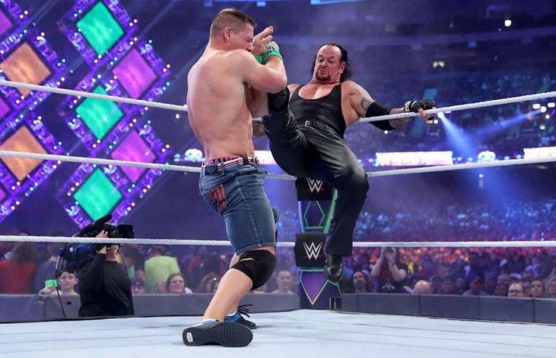 John cena vs the undertaker