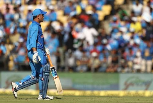 MS Dhoni - An important component of Team India's middle order