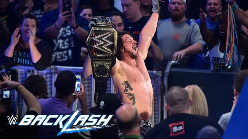 A huge moment in wrestling history