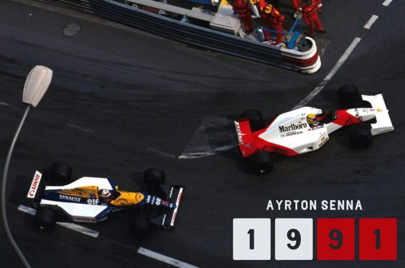 By now a pole and win at Monaco was becoming a norm