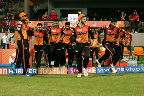 SRH have made it through to the playoffs by a fine margin. (Image Courtesy: IPLT20)