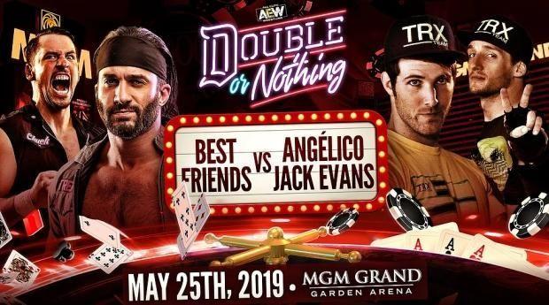 Angelico & Jack Evans vs. The Best Friends