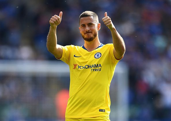 Will Eden Hazard retain his top spot yet again?