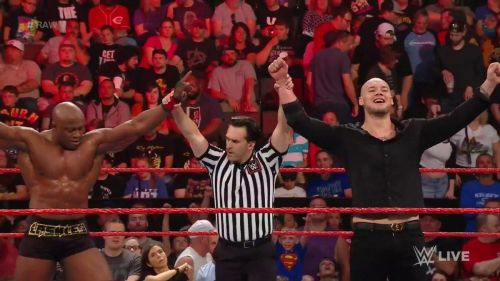 Lashley and Corbin won the match, but at what cost?