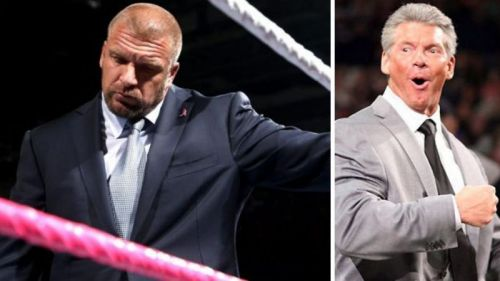 Triple H can't be happy