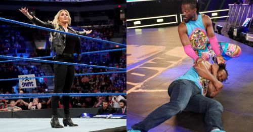 Big announcements and an all-star tag team match were followed by KO's interview of the New Day on tonight's SmackDown live