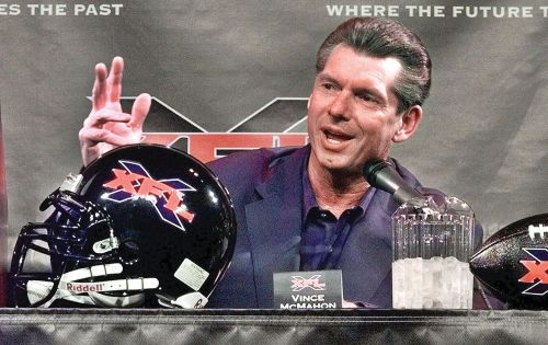 McMahon is currently attempting to relaunch XFL