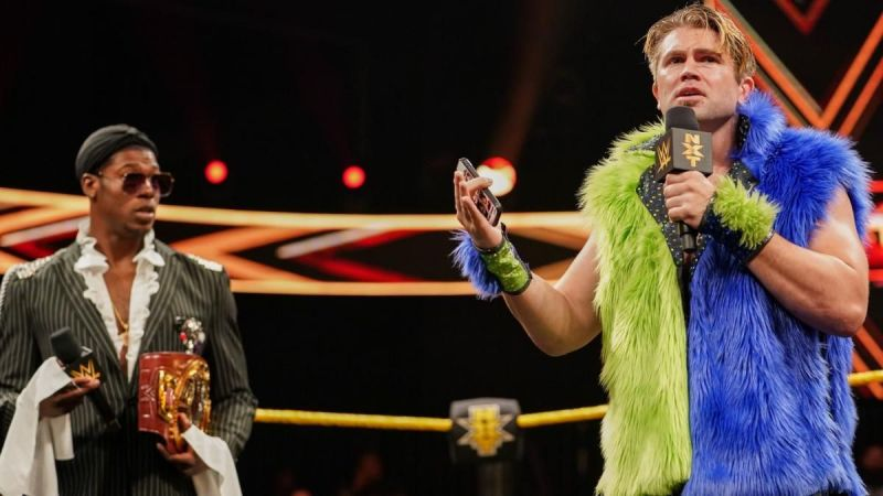 The Velveteen Dream was in for a pretty big surprise