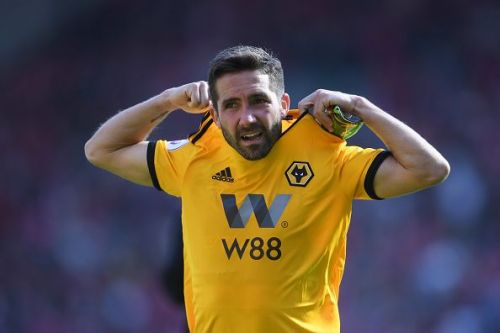 Joao Moutinho played a huge role in Wolves success during the 2018-19 season