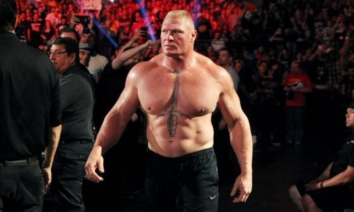 Lesnar lost the Universal title at WrestleMania 35