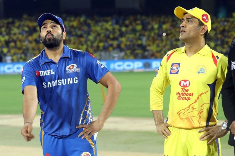 Rohit Sharma and MS Dhoni (picture courtesy: BCCI/iplt20.com)