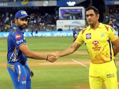 चेन्नई और मुंबई के कप्तान