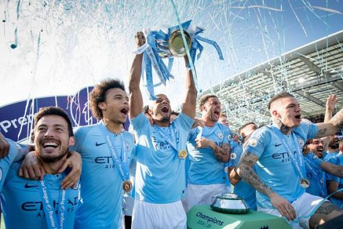 Man City won the domestic treble this season