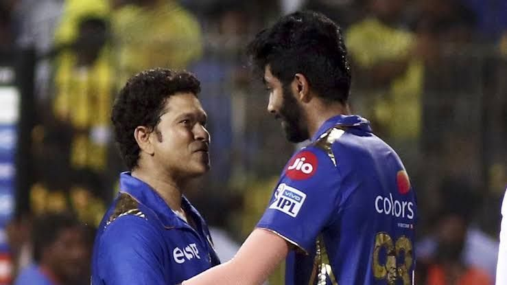 Bumrah has picked Sachin in his all-time MI XI.