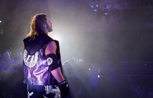 AJ Styles battled Randy Orton at the live event