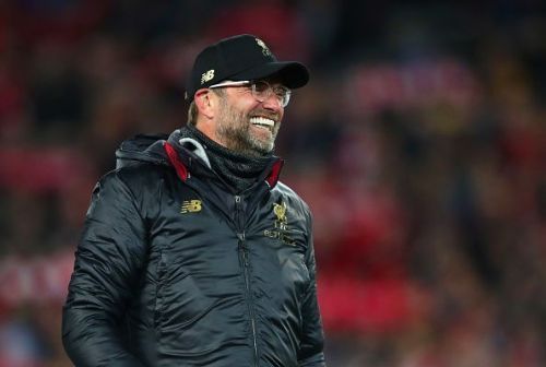 The master technician was all smiles after Liverpool's deserved victory against Barcelona