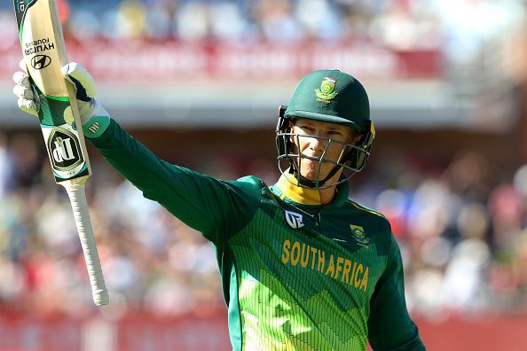 Rassie van der Dussen has done considerably well for South Africa