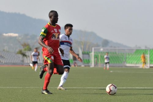 Princewill Emeka is one of the two foreigners in the TRAU FC squad