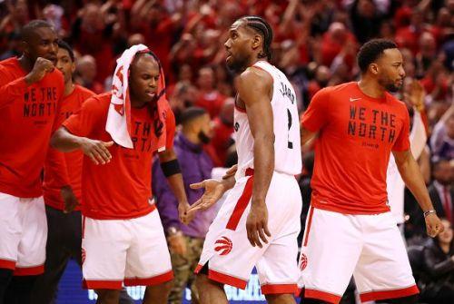 Kawhi Leonard led the Raptors home in a double OT thriller