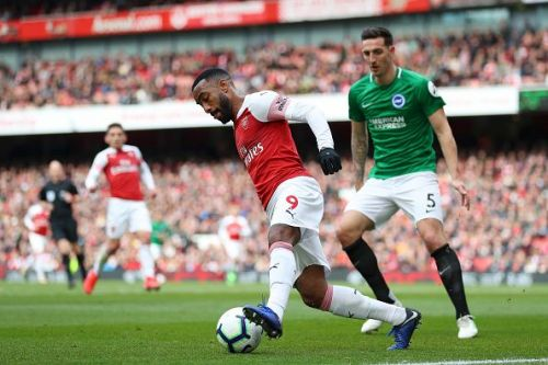 Lacazette was named Arsenal's Player of the Year