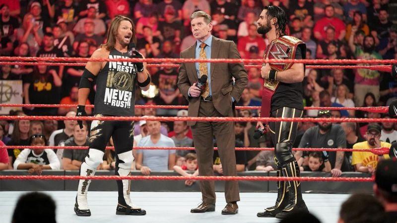 A pretty bittersweet episode of Monday Night Raw