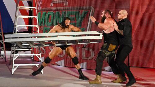 Strowman, Corbin and McIntyre on RAW