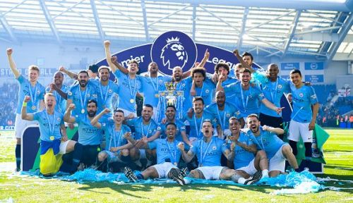 Manchester City won their 2nd consecutive Premier League title and 4th this decade