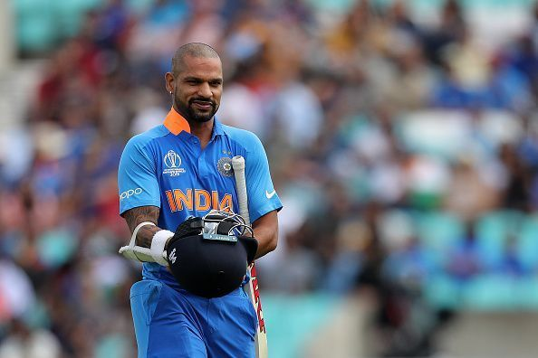 Dhawan had a poor run in the warm-ups