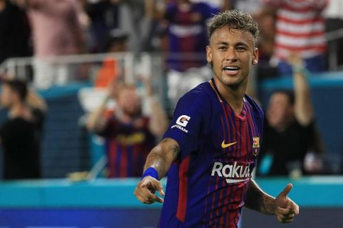 Neymar has been linked to Barca in recent times.