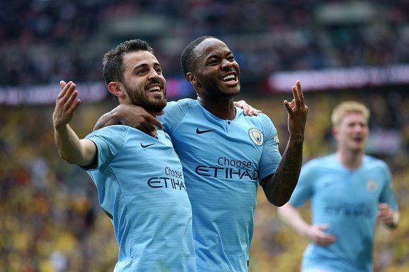 Manchester City - Domestic treble!