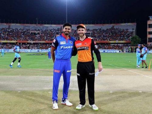 दिल्ली और हैदराबाद के कप्तान