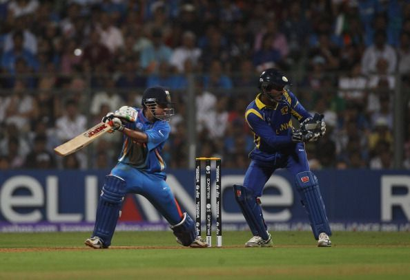 The southpaw Gautam Gambhir's century stand with skipper Dhoni swung the final India's way.