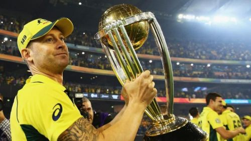 The world winning skipper Michael Clarke last played in ODI cricket in the final of the World Cup in 2015