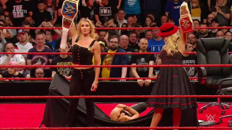 Who will walk out of Money in the Bank with the Raw Women