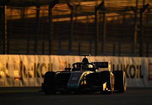 Nicholas Latifi currently leads the Formula 2 championship.