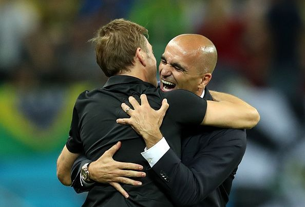 Roberto Martínez guided Belgium to 3rd place at the 2018 FIFA World Cup in Russia