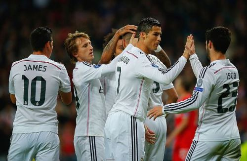 Cristiano Ronaldo is Real Madrid's all time record scorer