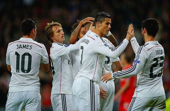 Cristiano Ronaldo is Real Madrid