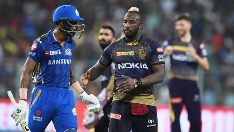 Hardik Pandya and Andre Russell, two of the most valuable players of IPL 2019 (Picture courtesy: IPLT20/BCCI)