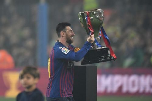 Messi won his 34th major honor as a Barcelona player