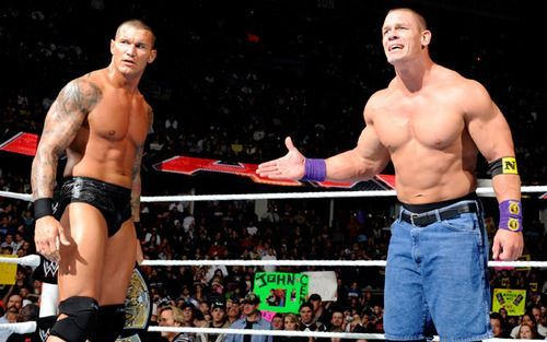 Orton and Cena
